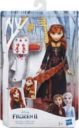 Hasbro Frozen 2 Anna z lokówką  (E6950/E7003)