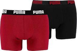 Puma Bokserki męskie Puma Basic Boxer 2P czerwone czarne 521015001 786 S ID produktu: 6312452