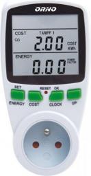 Orno OR-WAT-408 Dwutaryfowy watomierz, kalkulator energii