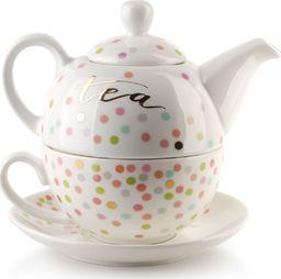 Mondex Filiżanka z czajniczkiem do herbaty Lola