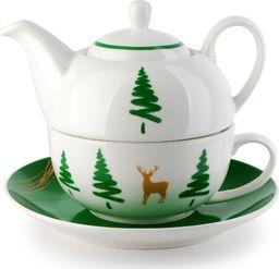 Mondex Filiżanka z czajniczkiem do herbaty Rudolf 400ml