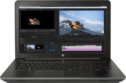 Laptop HP HP ZBook 17 G4 E3-1535M v6 32/512 SSD Quadro P5000 - OUTLET