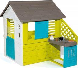 Smoby Domek dla dzieci Pretty z kuchnią