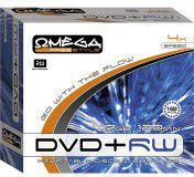 Omega FREESTYLE DVD+RW 4,7GB 4X SLIM CASE 10szt (56705)