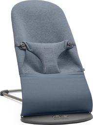 BABYBJORN  BABYBJORN - leżaczek BLISS 3D Jersey - Niebieski