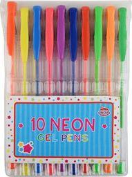 Barney & Buddy Długopisy żelowe - neonowe