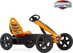 Berg BERG Gokart Rally - Pomarańczowy Pompowane koła 4-12 lat do 60 kg