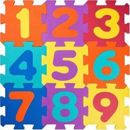 Plastica Duże piankowe puzzle – Cyferki