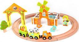 ClassicWorld Kolejka dla dzieci drewniana Farma