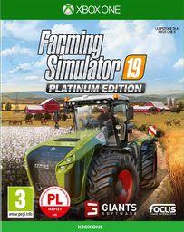 Farming Simulator 19 - Edycja Platynowa PL (XONE)
