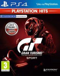 Gran Turismo SPORT PL HITS! (PS4)