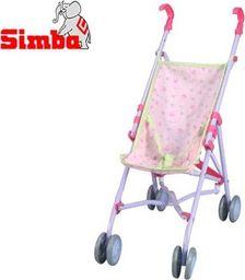 Simba Wózek dla lalek Spacerówka Simba 60 cm Fioletowy
