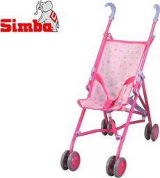 Simba Wózek dla lalek Spacerówka Simba 60 cm Różowy