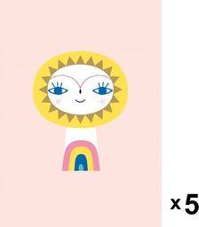 Petit Monkey Petit Monkey -  Mr Sun zaproszenia urodzinowe zestaw 5 szt.