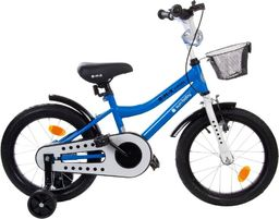 "Sun Baby Rowerek BMX 16"" Junior niebieski"