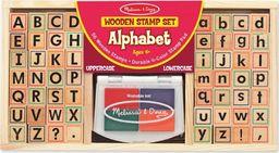 Melissa & Doug Zestaw stempelków alfabet