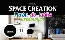 Space Creation Farba tablicowa CZARNA  Space Creation 1 litr