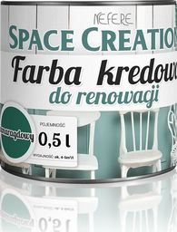Space Creation Farba kredowa Space Creation - szmaragdowy 0,5l