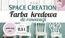 Space Creation Kredowa farba do renowacji - pudrowy róż 0,5l