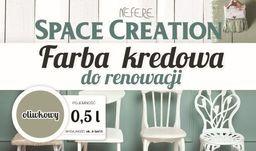 Space Creation Farba kredowa do renowacji - oliwkowy 0,5l