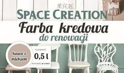 Space Creation Farba kredowa do stylizacji mebli - kawa z mlekiem 0,5l
