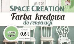 Space Creation Kredowa farba do renowacji - zielony agrest 0,5l