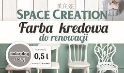 Space Creation Kredowa farba do renowacji - szara 0,5l