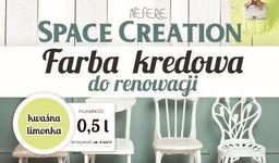 Space Creation Farba kredowa do renowacji - limonka 0,5l