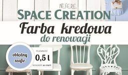 Space Creation Farba kredowa do renowacji - szafir 0,5l