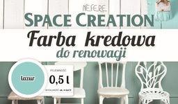 Space Creation Farba kredowa do stylizacji mebli - lazur 0,5l