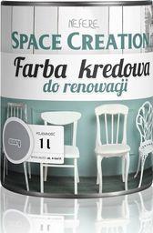 Space Creation Farba kredowa do stylizacji mebli - szara 1 litr