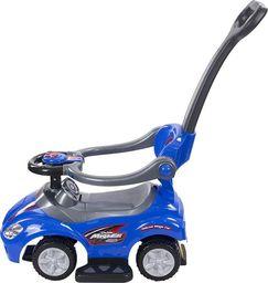 Sun Baby Jeździk Mega car z popychaczem - niebieski