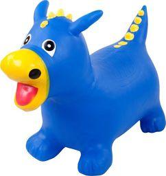 Sun Baby Gumowy skoczek smok - niebieski