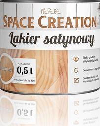 Space Creation Lakier satynowy do powierzchni malowanych farbą kredową i do drewna