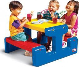 Little Tikes Little tikes Ogromny stół piknikowy Stolik niebieski