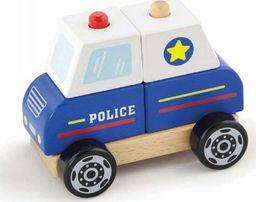 Viga Viga Zestaw klocków Policja