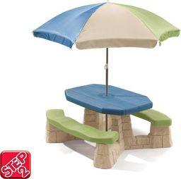 Step2 STEP2 Stół Piknikowy z Parasolem