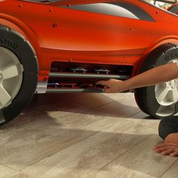 Kidkraft Drewniany Stół Samochód z Torem Wyścigowym KidKraft Speedway