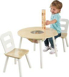 Kidkraft KidKraft Stolik drewniany + 2 krzesełka
