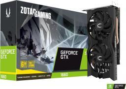 Karta graficzna Zotac GeForce GTX 1660 Twin Fan 6GB GDDR5 (ZT-T16600K-10M)
