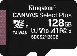Karta Kingston MicroSDXC Canvas Select Plus 128GB  (SDCS2/128GBSP)