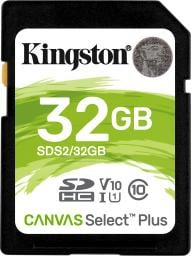 Karta Kingston SDHC Canvas Select Plus 32GB (SDS2/32GB)