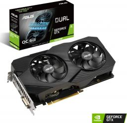 Karta graficzna Asus Dual GeForce GTX 1660 SUPER Evo OC 6GB GDDR6 (DUAL-GTX1660S-O6G-EVO)