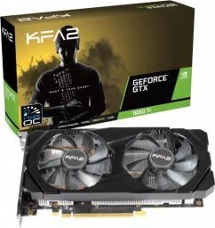 Karta graficzna KFA2 GeForce GTX 1660 SUPER 1-Click OC 6GB GDDR6 (60SRL7DSY91K)