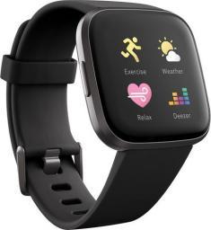 Smartwatch Fitbit Versa 2 Czarny  (40-41-4069)
