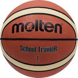 Molten Piłka Molten G7-ST School Trainer BG7-ST brązowy 7