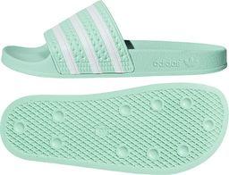 Adidas Klapki adidas Originals Adilette CG6538 CG6538 zielony 37