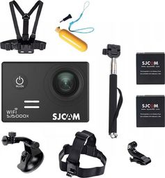 Kamera SJCAM SJ5000X Elite - 2 baterie + dodatkowe akcesoria