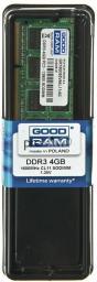 Pamięć do laptopa GoodRam DDR3 4GB 1600 CL11 (GR1600S3V64L11/4G)