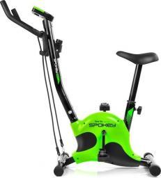 Spokey  Rower mechaniczny Onego+ czarno-zielony